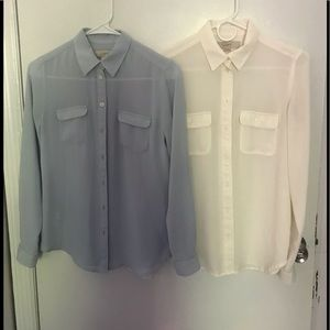 LOFT Tops - Button down blouses
